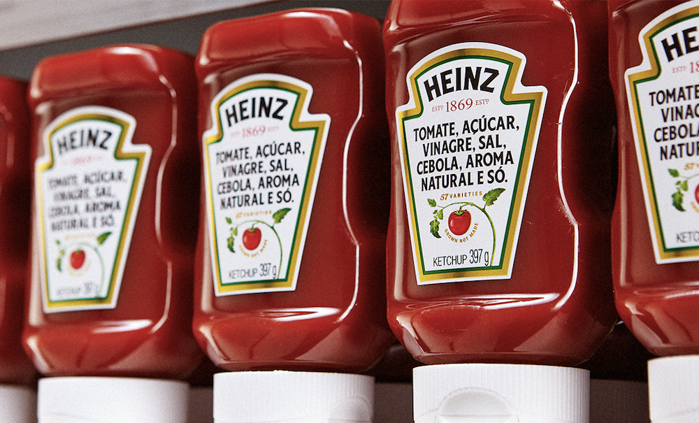 A estratégia de marketing por trás do 'rótulo sincero' do ketchup Heinz