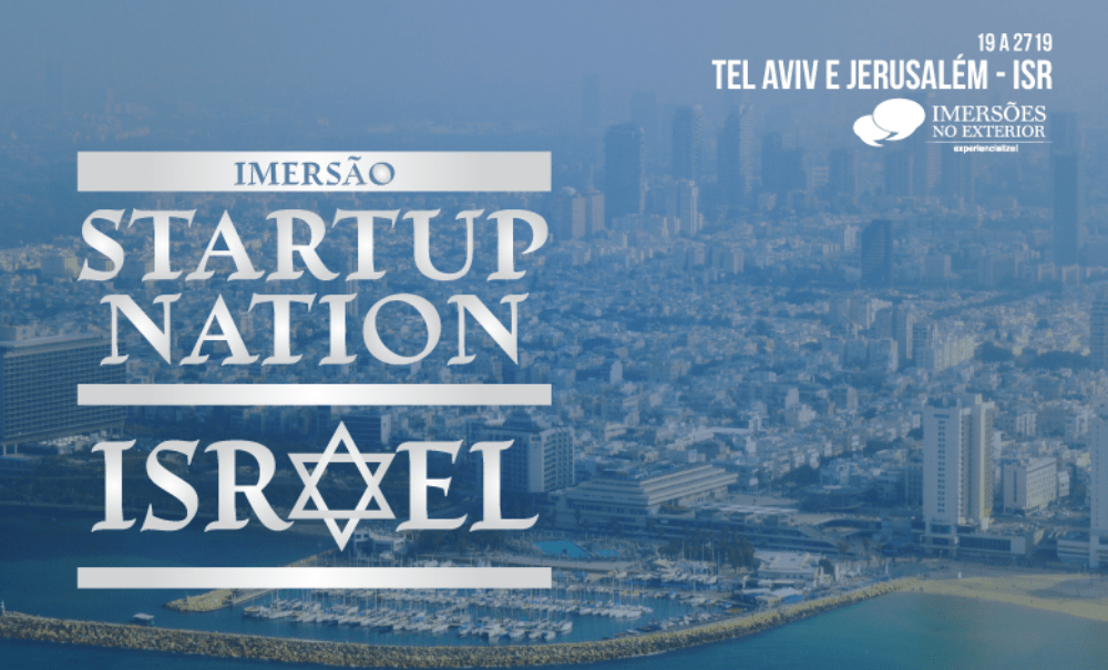 Experiencialize realiza imersão com Grandes Palestrantes a Israel